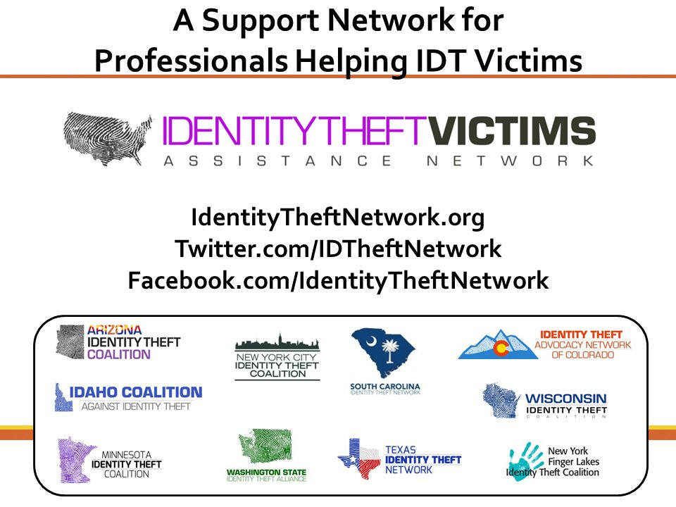 A Support Network for Professionals Helping IDT Victims