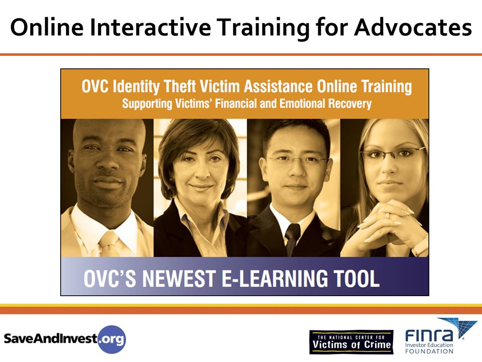 Online Interactive Training for Advocates