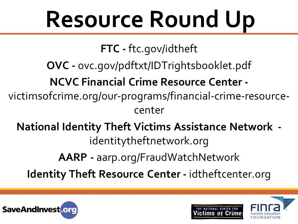 Resource Round Up