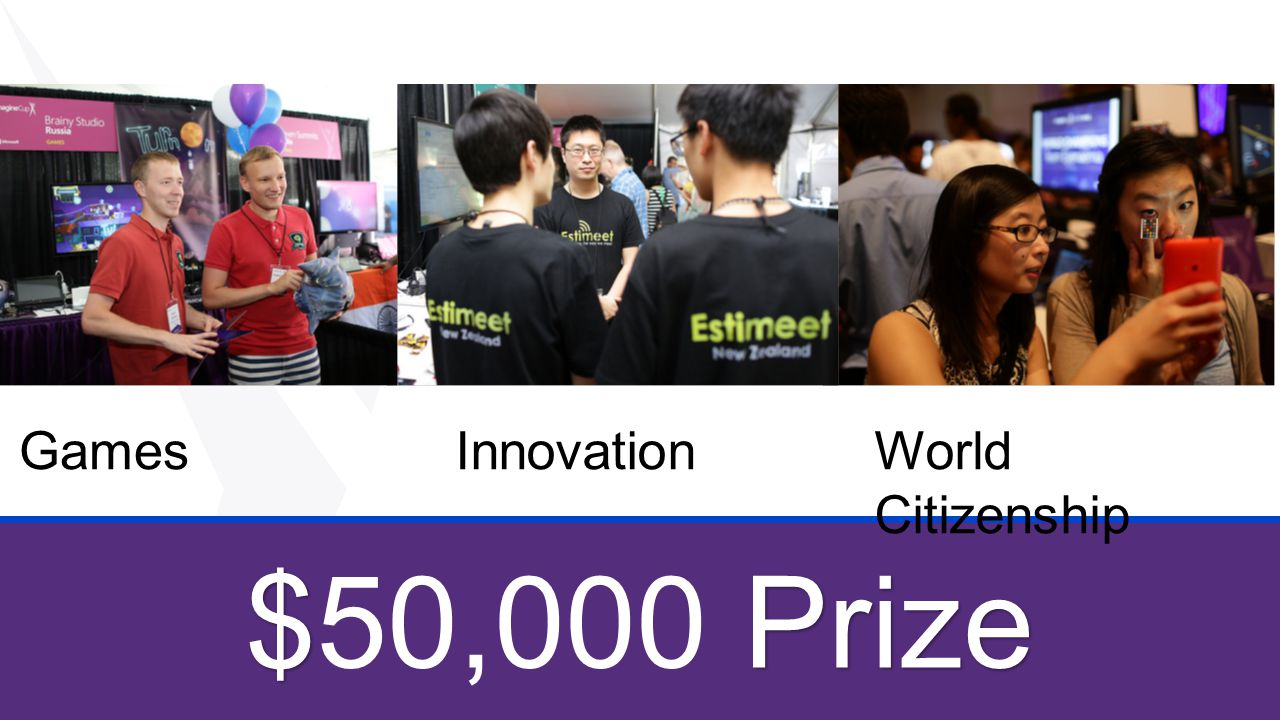 Games Innovation World Citizenship $50,000 Prize Winners