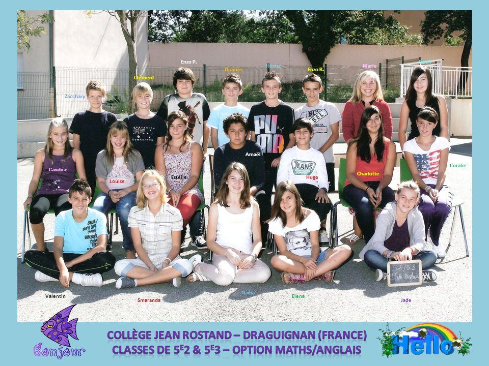 Collège Jean Rostand – DRAGUIGNAN (France)