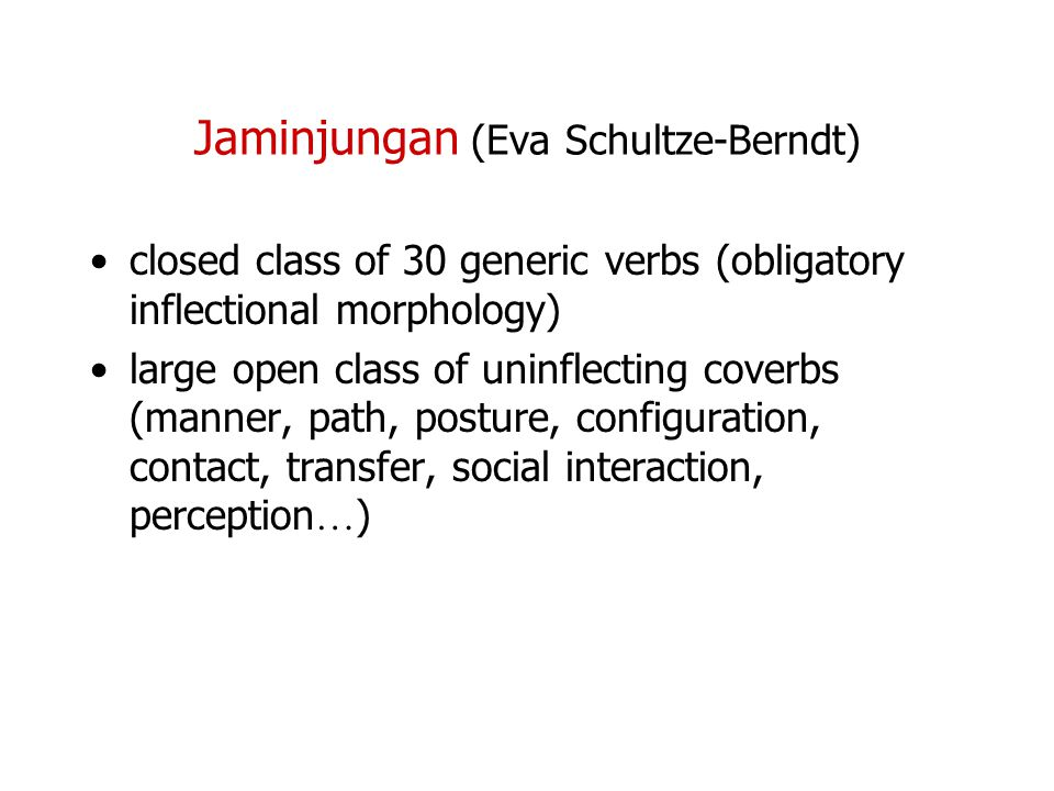Jaminjungan (Eva Schultze-Berndt)