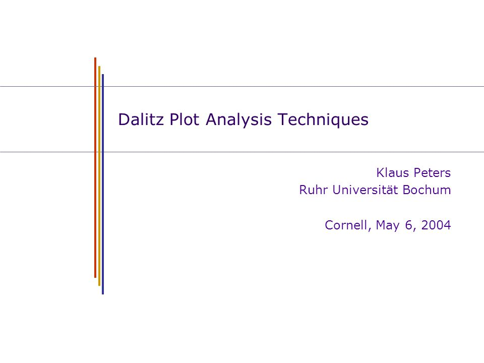 Dalitz Plot Analysis Techniques