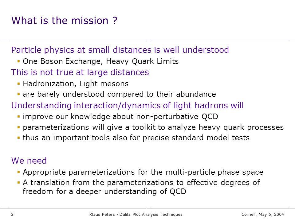 Klaus Peters - Dalitz Plot Analysis Techniques