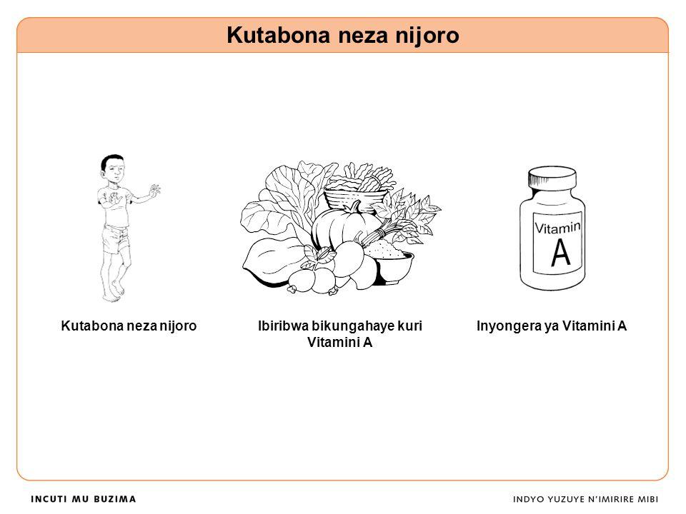 Ibiribwa bikungahaye kuri Vitamini A Inyongera ya Vitamini A