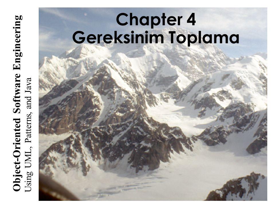 Chapter 4 Gereksinim Toplama