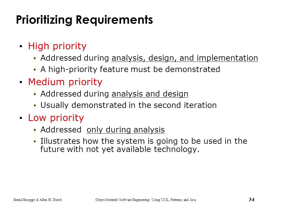 Prioritizing Requirements