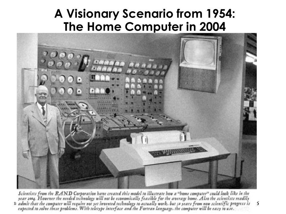 A Visionary Scenario from 1954: The Home Computer in 2004
