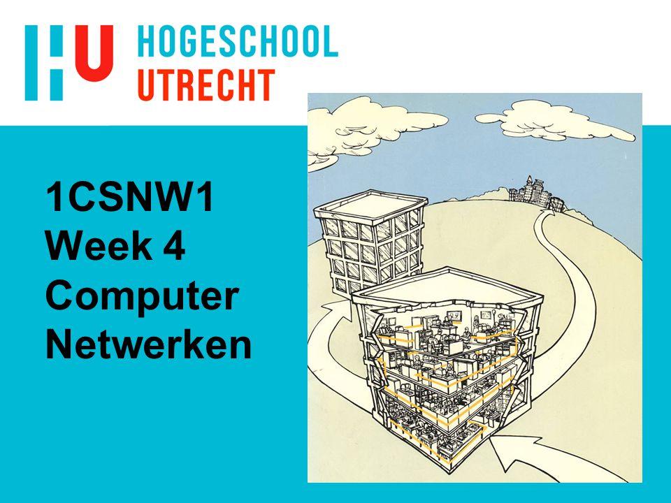 1CSNW1 Week 4 Computer Netwerken