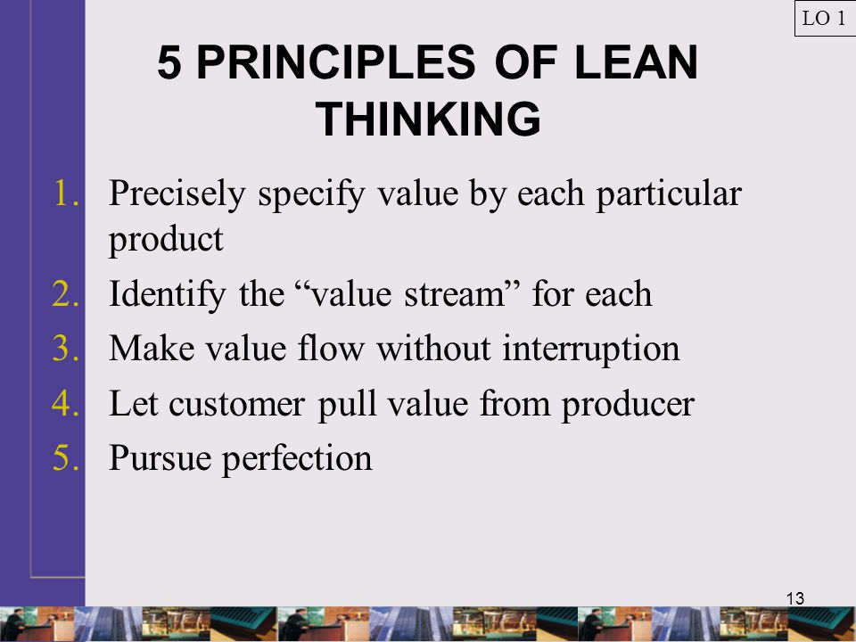 5 PRINCIPLES OF LEAN THINKING