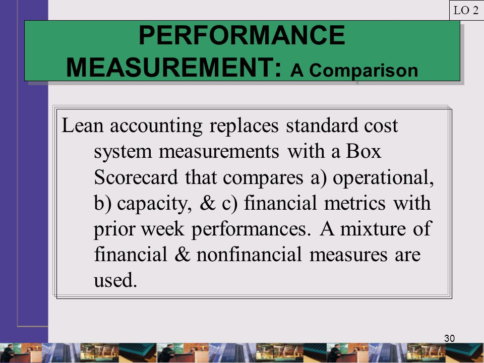 PERFORMANCE MEASUREMENT: A Comparison
