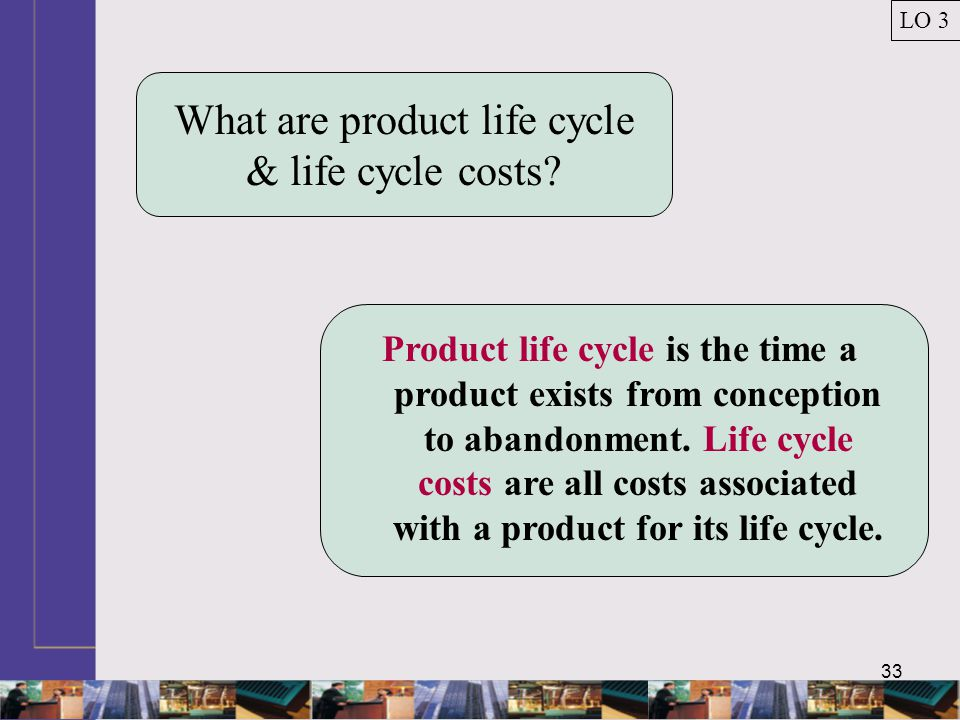 What are product life cycle & life cycle costs
