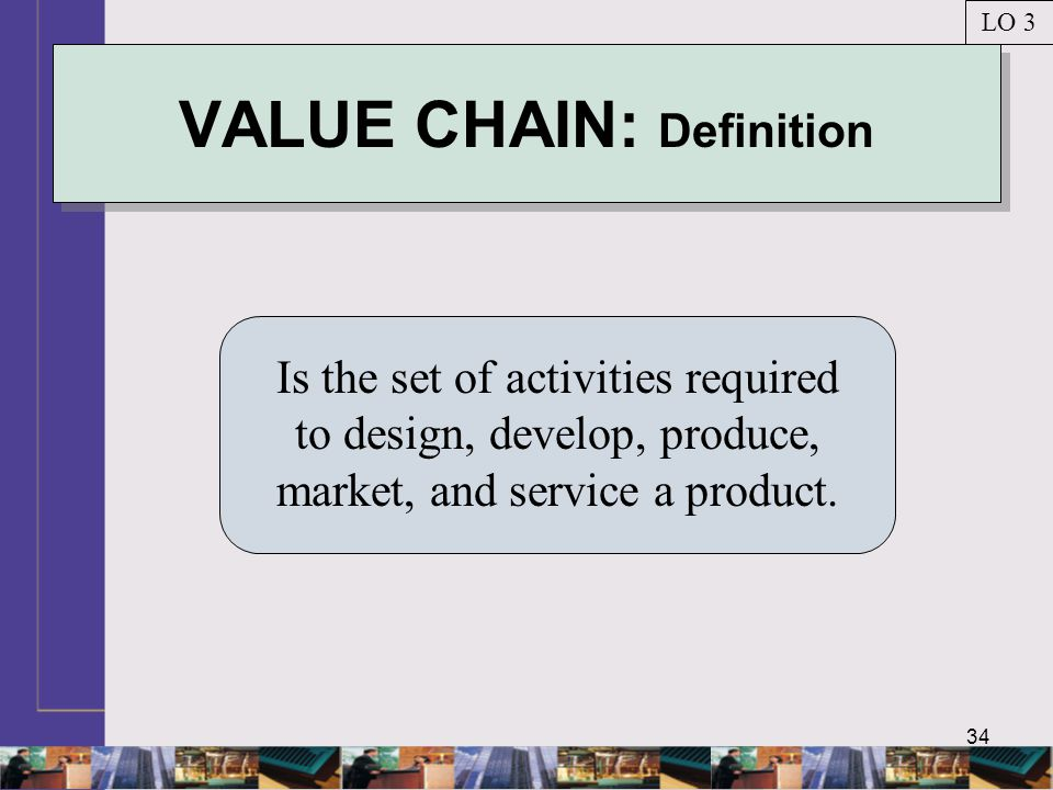 VALUE CHAIN: Definition