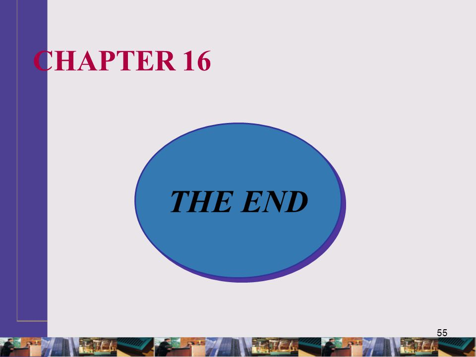 CHAPTER 16 THE END