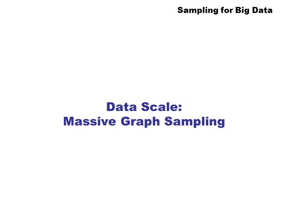 Data Scale: Massive Graph Sampling