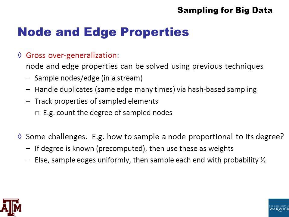 Node and Edge Properties