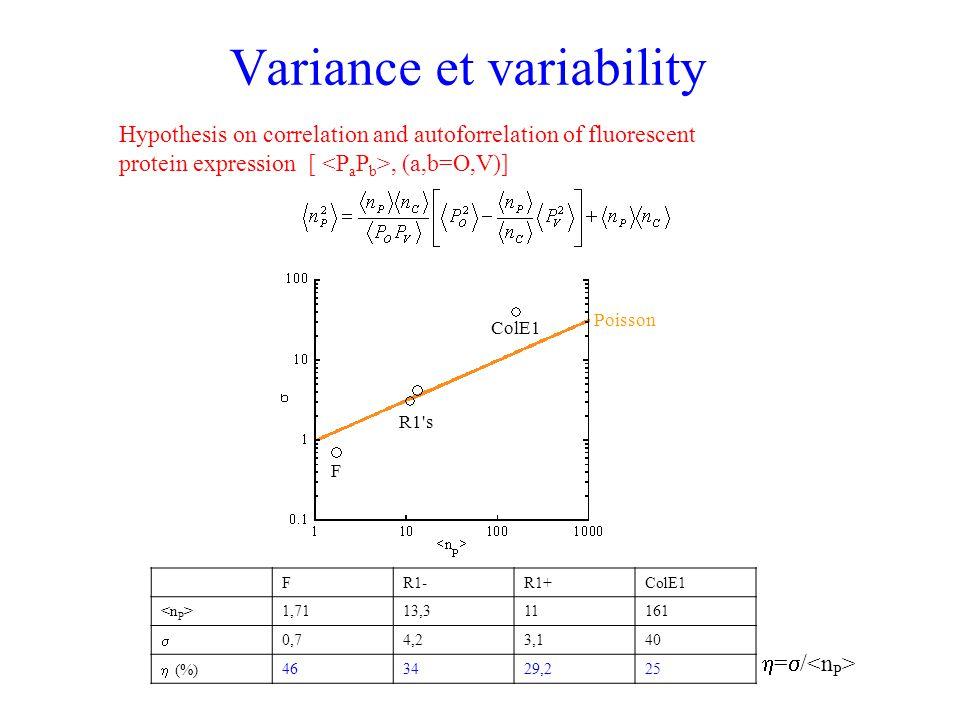 Variance et variability