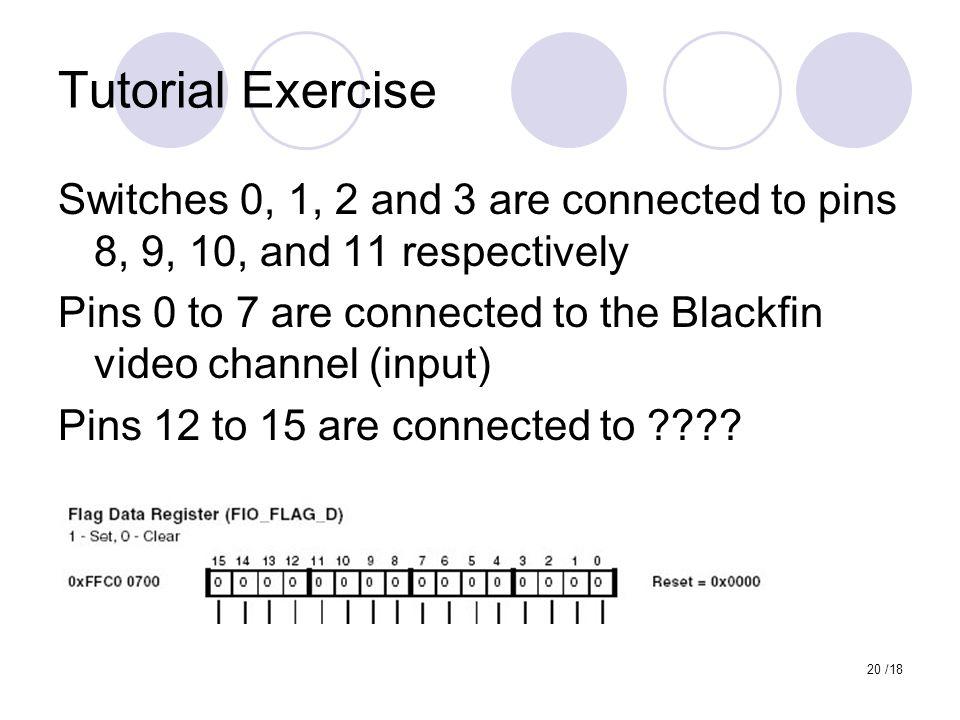 Tutorial Exercise