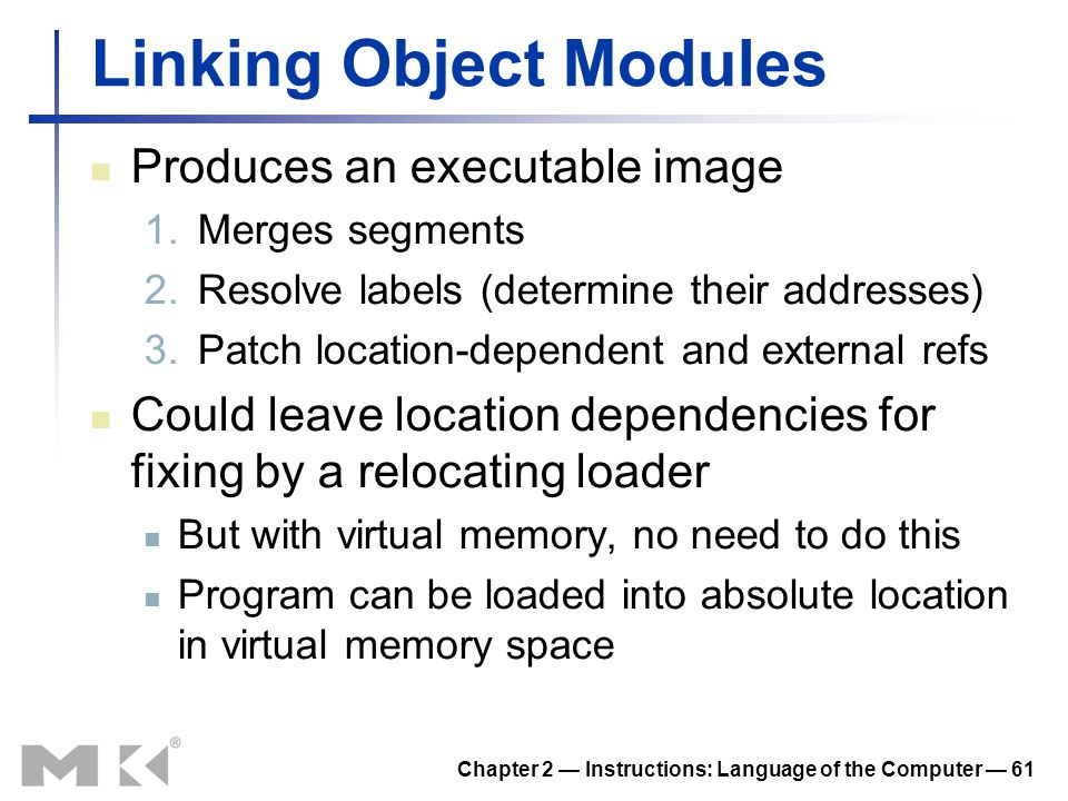 Linking Object Modules