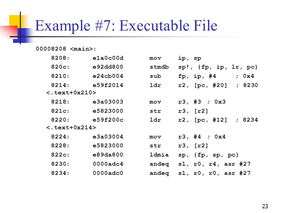 Example #7: Executable File