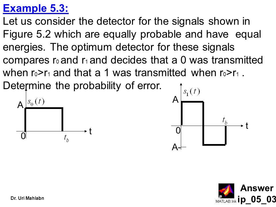 Example 5.3: