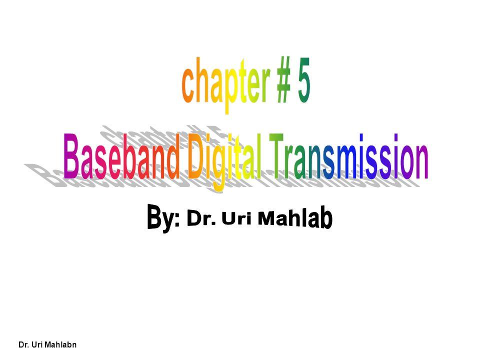 Baseband Digital Transmission