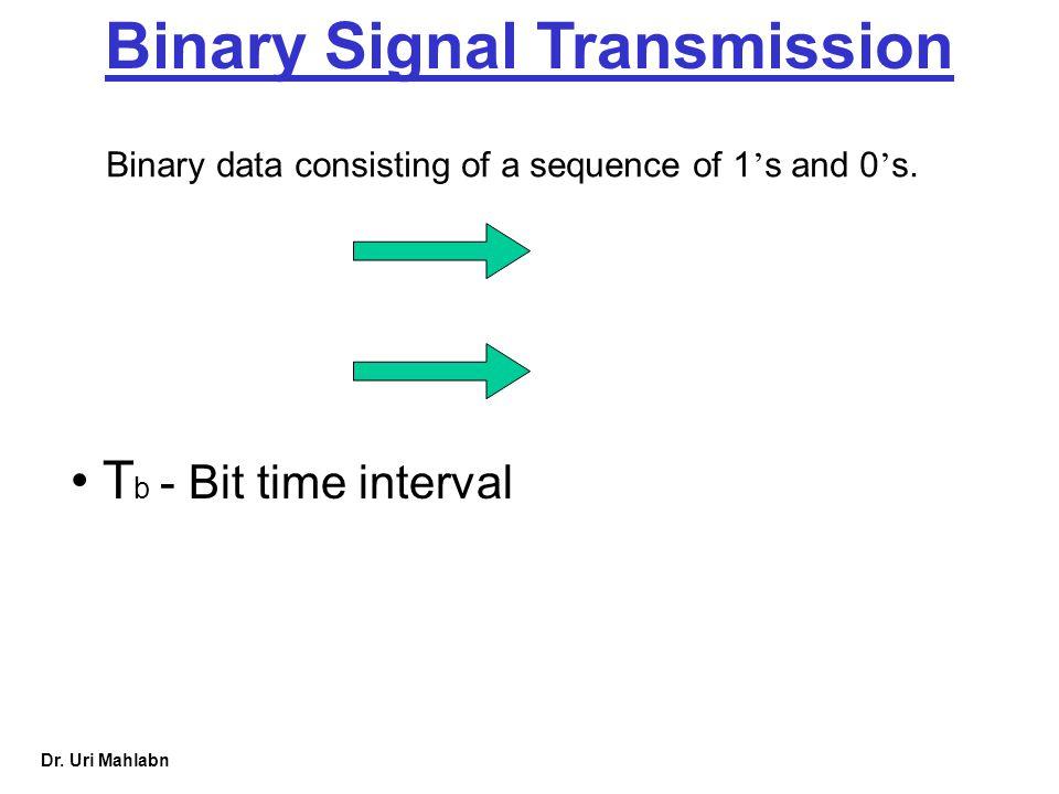 Binary Signal Transmission