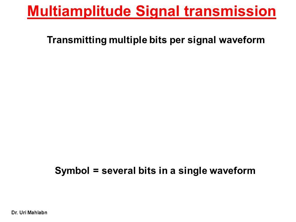 Multiamplitude Signal transmission