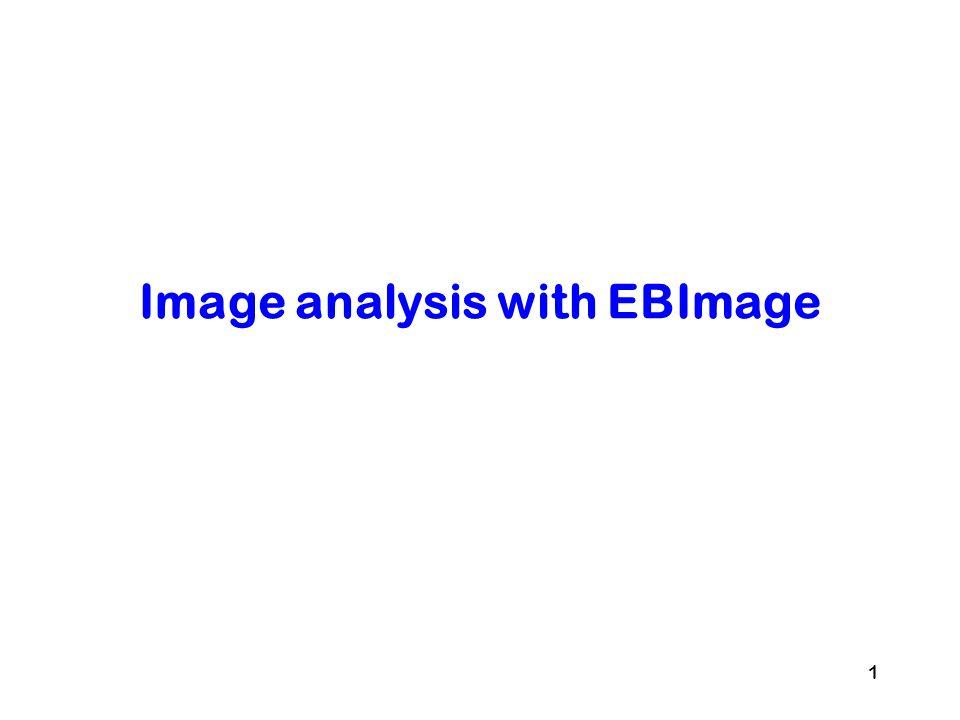 Image analysis with EBImage