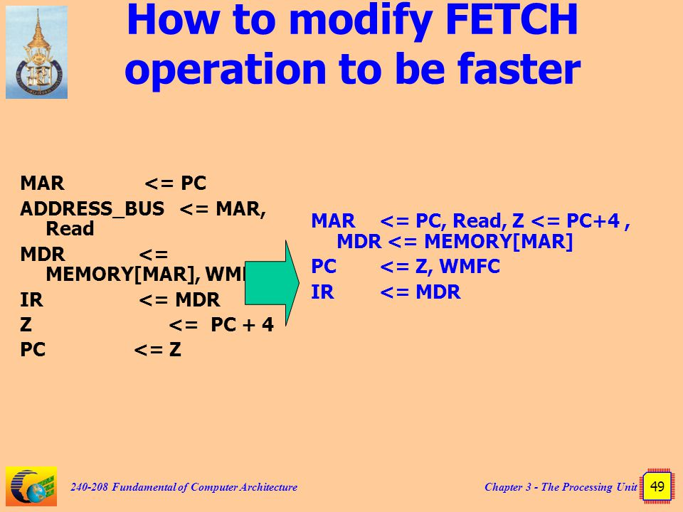 How to modify FETCH operation to be faster