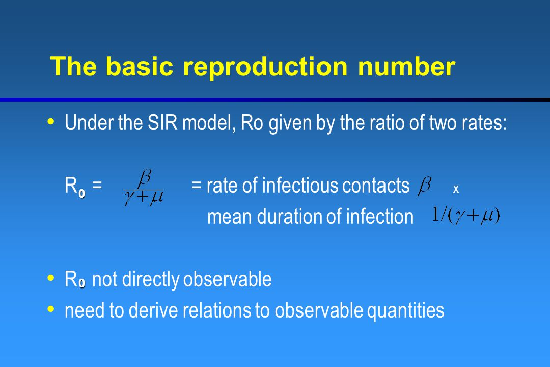 The basic reproduction number