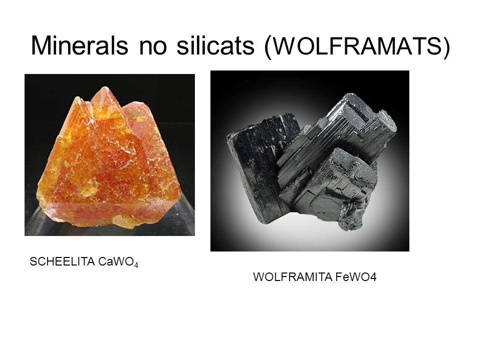 Minerals no silicats (WOLFRAMATS)