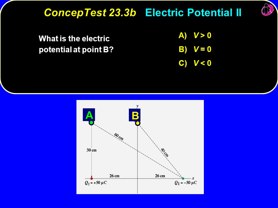 ConcepTest 23.3b Electric Potential II