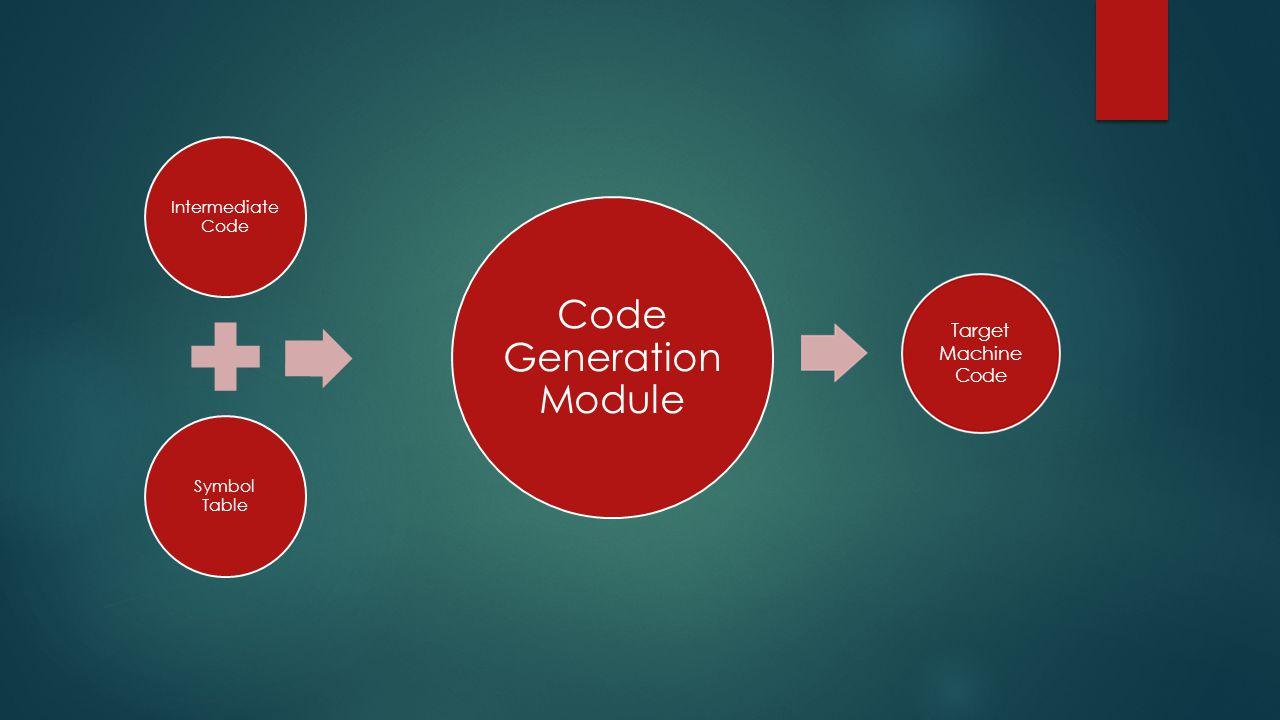 Code Generation Module