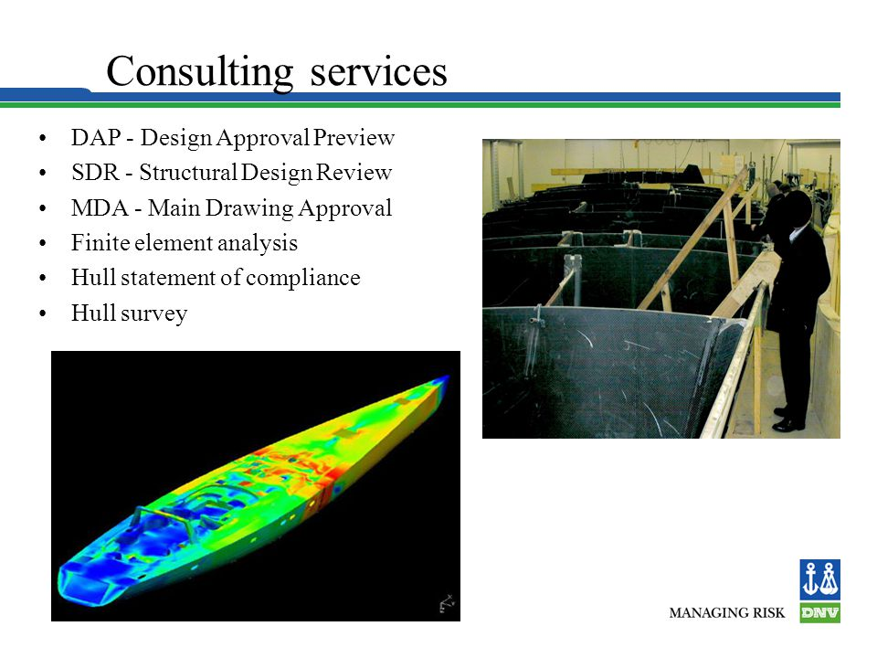 Consulting services DAP - Design Approval Preview