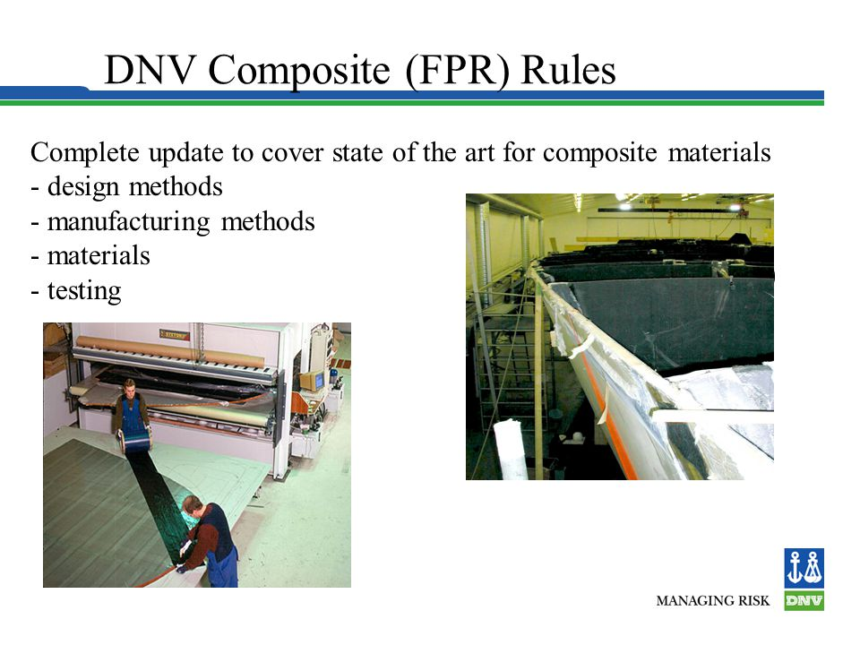 DNV Composite (FPR) Rules
