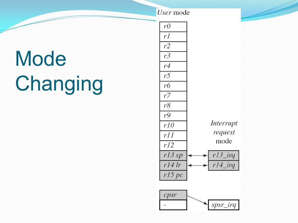 Mode Changing
