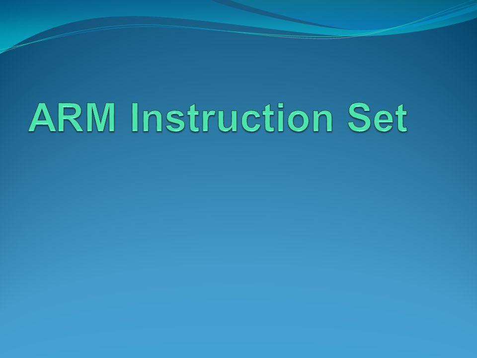 ARM Instruction Set