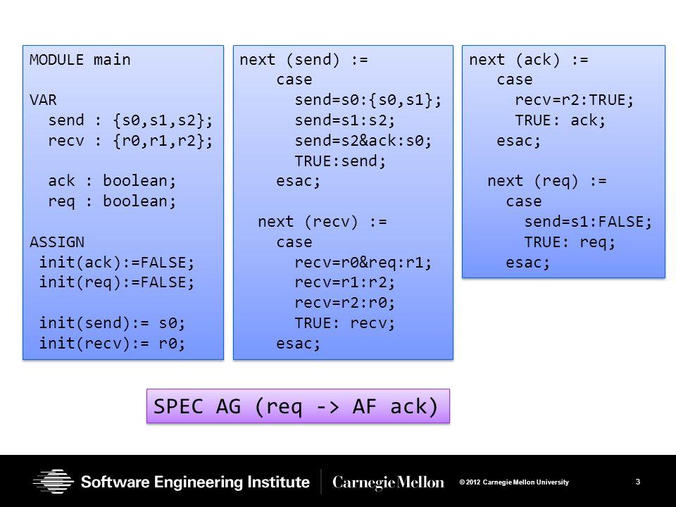 SPEC AG (req -> AF ack)