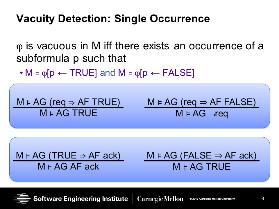 Vacuity Detection: Single Occurrence