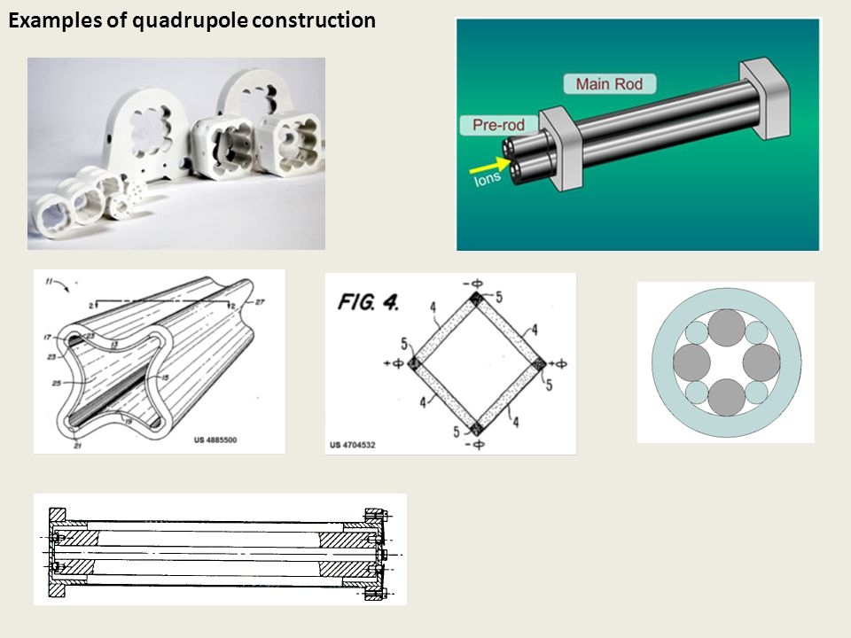 Examples of quadrupole construction