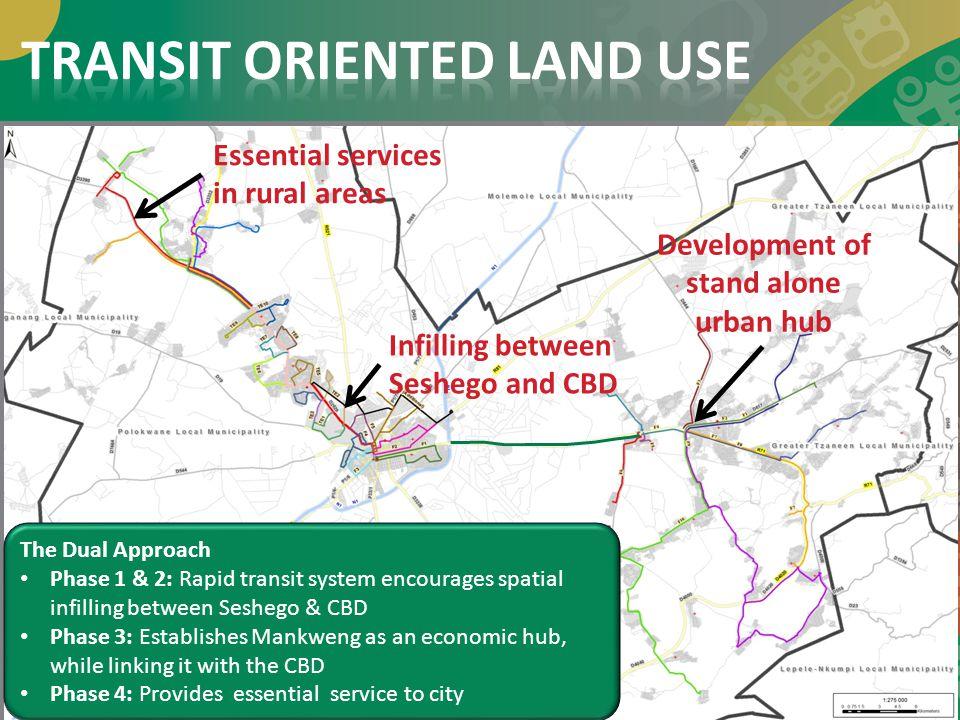TRANSIT ORIENTED LAND USE
