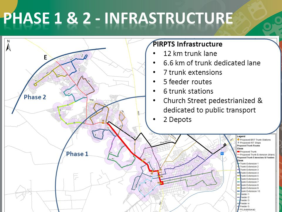 PHASE 1 & 2 - INFRASTRUCTURE
