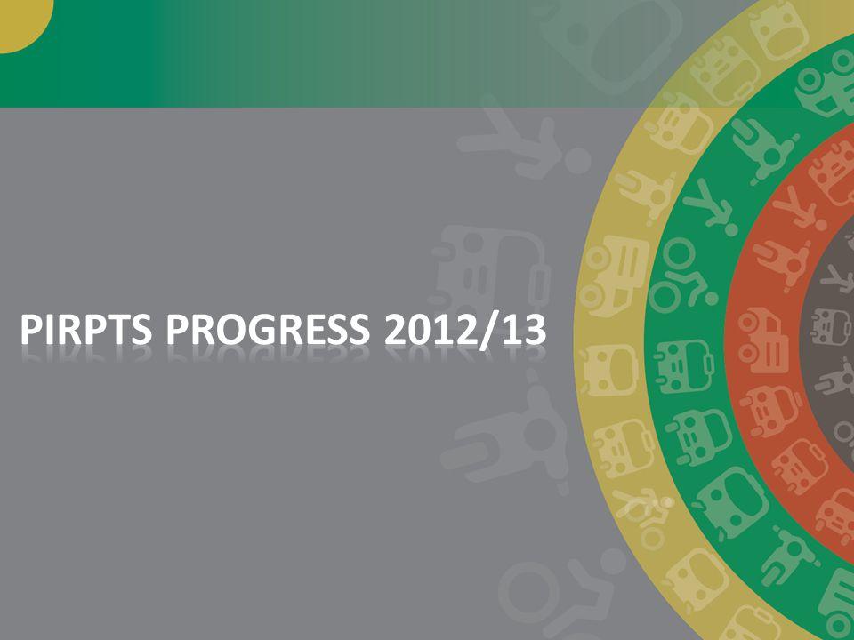 PIRPTS PROGRESS 2012/13