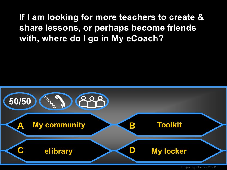 If I am looking for more teachers to create & share lessons, or perhaps become friends with, where do I go in My eCoach