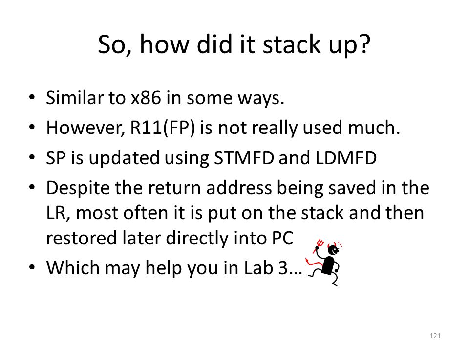 So, how did it stack up Similar to x86 in some ways.