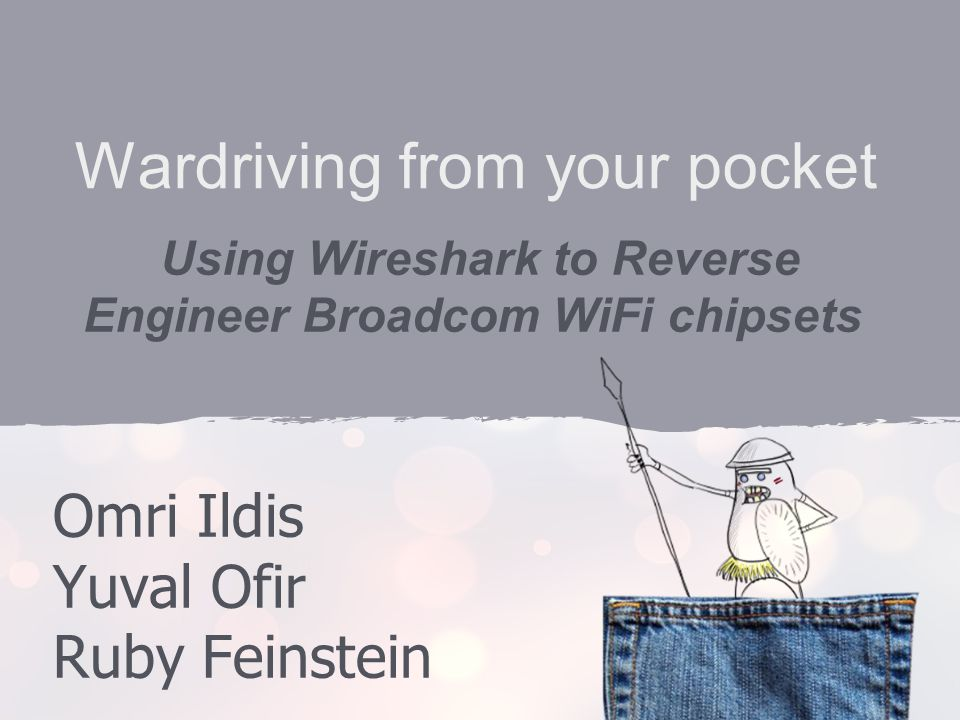 Wardriving from your pocket