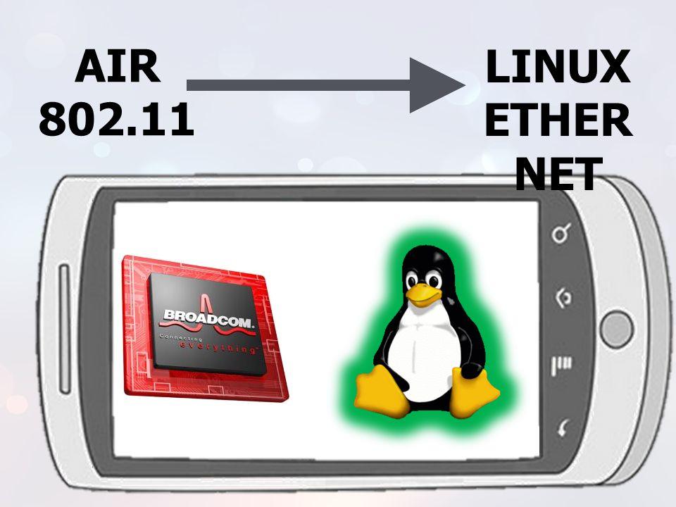 AIR 802.11. LINUX. ETHERNET.