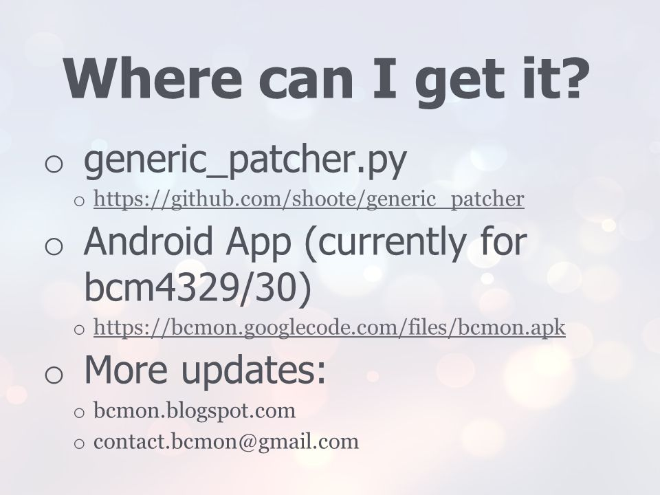 Where can I get it generic_patcher.py