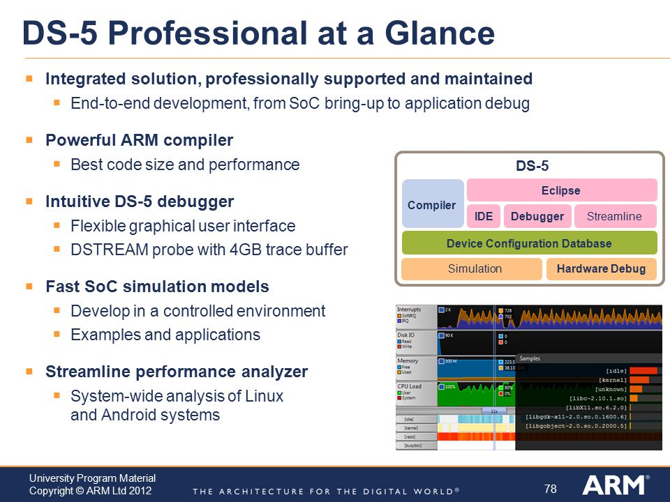 DS-5 Professional at a Glance